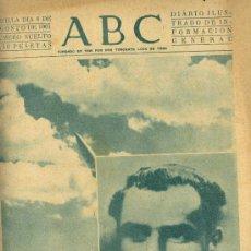 Coleccionismo de Los Domingos de ABC: ABC SEVILLA 8 DE AGOSTO DEL 1961. RECOR ESPACIAL. Lote 27279973