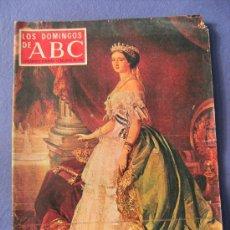 Coleccionismo de Los Domingos de ABC: LOS DOMINGOS DE ABC 12 DE JULIO DE 1970 EUGENIA DE MONTIJO NARANJO BULNES RASTRO NARARANCO BURGOS . Lote 22188236