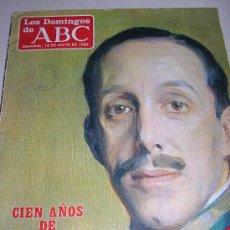 Coleccionismo de Los Domingos de ABC: LOS DOMINGOS DE ABC - SEMANAL ,18 DE MAYO DE 1986- CIEN AÑOS DE ALFONSO XIII. Lote 26189392
