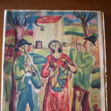 Coleccionismo de Los Domingos de ABC: ABC (22/03/58) - ESCULTURA FRANCISCO DURRIO AURORA BAUTISTA. Lote 24723340