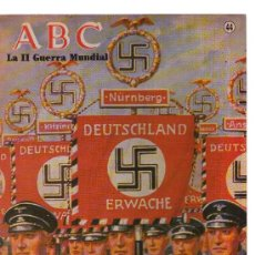 Coleccionismo de Los Domingos de ABC: ABC - LA II GUERRA MUNDIAL - N 44 - LAS LEGIONES EXTRANJERAS DEL III REICH. Lote 25531430