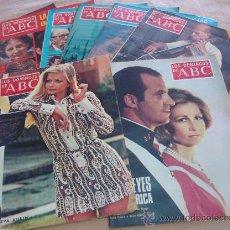 Coleccionismo de Los Domingos de ABC: LOS DOMINGOS DE ABC - LOTE DE 8 EJEMPLARES. Lote 26497691