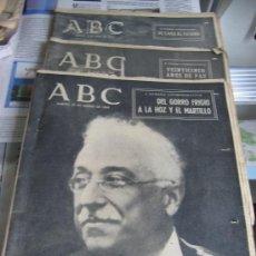 Coleccionismo de Los Domingos de ABC: ABC. AÑO 1.964. CONMEMORATIVOS DE LOS 25 AÑOS DEL FINAL DE LA GUERRA EN 1.939.. Lote 26330711