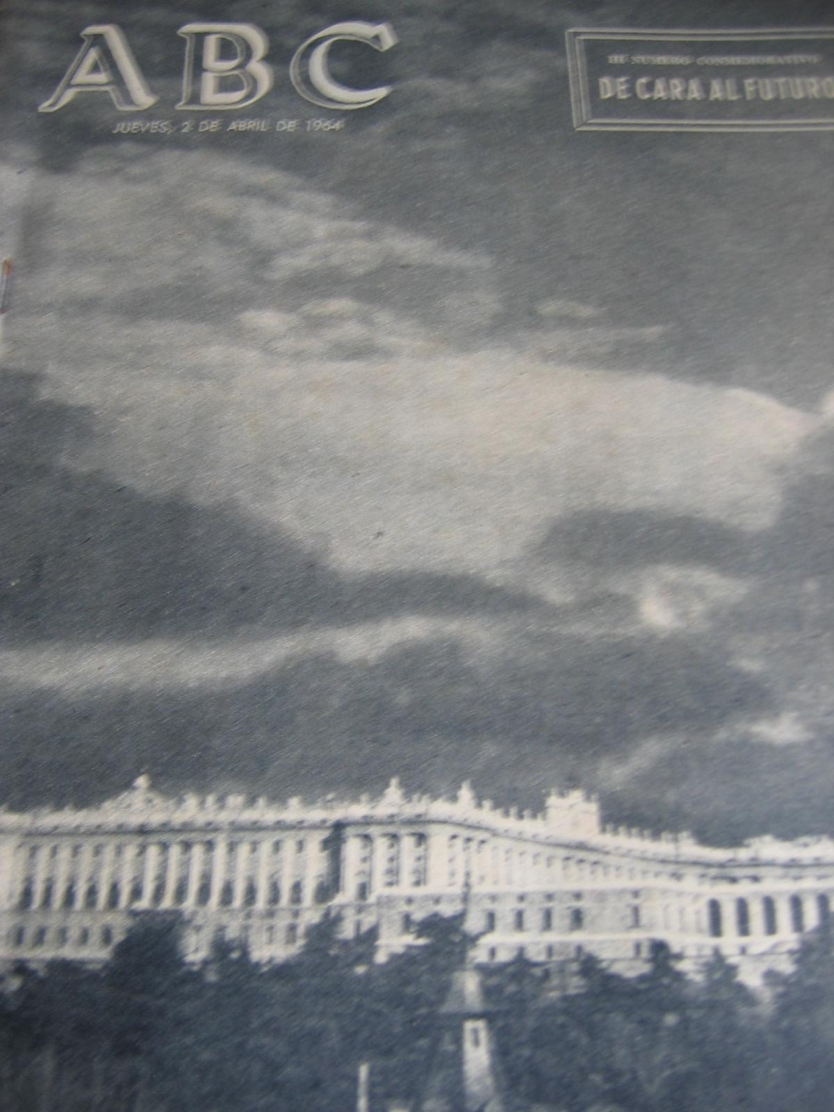 Coleccionismo de Los Domingos de ABC: ABC. AÑO 1.964. CONMEMORATIVOS DE LOS 25 AÑOS DEL FINAL DE LA GUERRA EN 1.939. - Foto 3 - 26330711