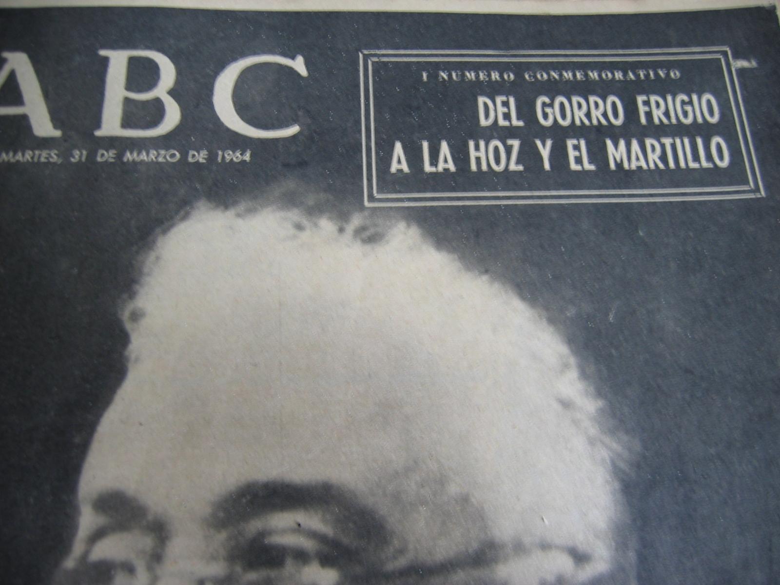 Coleccionismo de Los Domingos de ABC: ABC. AÑO 1.964. CONMEMORATIVOS DE LOS 25 AÑOS DEL FINAL DE LA GUERRA EN 1.939. - Foto 4 - 26330711