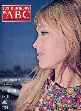 LOS DOMINGOS DE ABC (11-8-1968) MARISOL, EL MUNDO EN EL AÑO 2000, ERNESTO HALFFTER, ALPINISMO, (Coleccionismo - Revistas y Periódicos Modernos (a partir de 1.940) - Los Domingos de ABC)