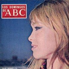 Coleccionismo de Los Domingos de ABC: LOS DOMINGOS DE ABC (11-8-1968) MARISOL, EL MUNDO EN EL AÑO 2000, ERNESTO HALFFTER, ALPINISMO,. Lote 26824244