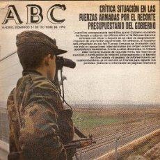 Coleccionismo de Los Domingos de ABC: PERIODICO ABC 31 OCTUBRE 1.993. Lote 27027207