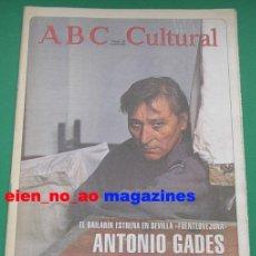 Coleccionismo de Los Domingos de ABC: ABC CULTURAL Nº 180/1995 ANTONIO GADES~MONTSERRAT CABALLE . Lote 27735550