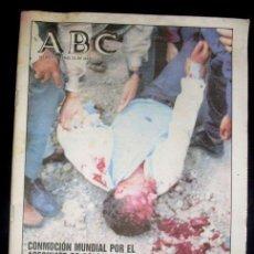 Coleccionismo de Los Domingos de ABC: ABC - PERIODICO - 25 MARZO 1994 - ASESINATO DE COLOSIO. Lote 27872394