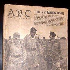 Coleccionismo de Los Domingos de ABC: ABC - PERIODICO - JUEVES 20 OCTUBRE 1977. Lote 28241880
