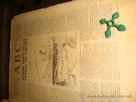 Coleccionismo de Los Domingos de ABC: ABC, 1953 , numero extraordinario, dos pesetas, semana santa, - Foto 28 - 28851205