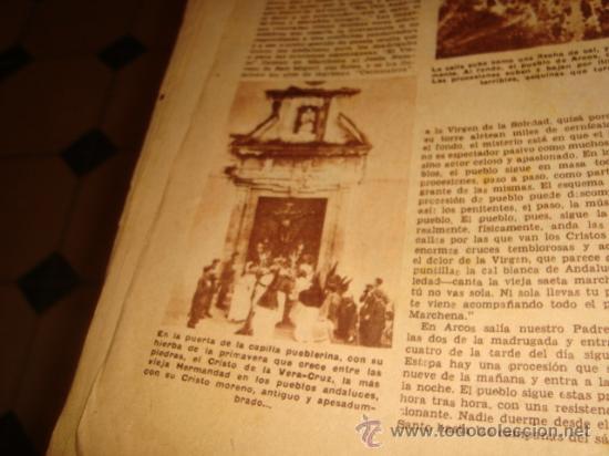 Coleccionismo de Los Domingos de ABC: ABC, 1953 , numero extraordinario, dos pesetas, semana santa, - Foto 23 - 28851205