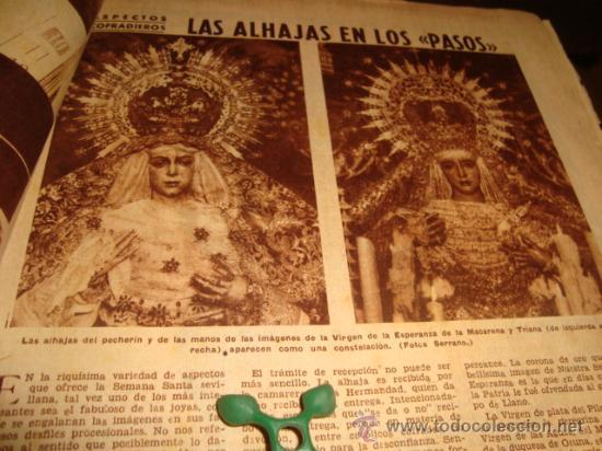 Coleccionismo de Los Domingos de ABC: ABC, 1953 , numero extraordinario, dos pesetas, semana santa, - Foto 20 - 28851205
