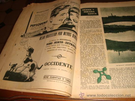 Coleccionismo de Los Domingos de ABC: ABC, 1953 , numero extraordinario, dos pesetas, semana santa, - Foto 17 - 28851205