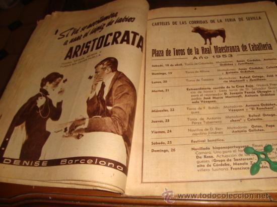 Coleccionismo de Los Domingos de ABC: ABC, 1953 , numero extraordinario, dos pesetas, semana santa, - Foto 16 - 28851205