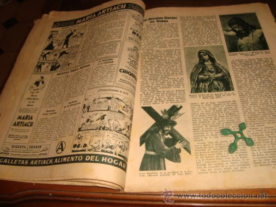Coleccionismo de Los Domingos de ABC: ABC, 1953 , numero extraordinario, dos pesetas, semana santa, - Foto 13 - 28851205