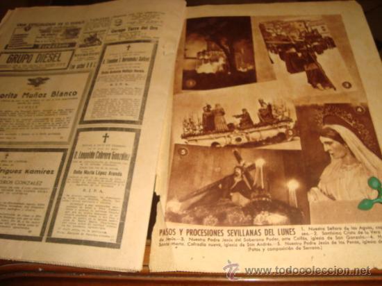Coleccionismo de Los Domingos de ABC: ABC, 1953 , numero extraordinario, dos pesetas, semana santa, - Foto 3 - 28851205