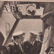 Coleccionismo de Los Domingos de ABC: ABC. 2-6-1965. ANTICLERICALISMO, DANTE, IMBERT Y CAAMAÑO, DE GAULLE, REJANE TEATRO FRANCES. Lote 28872962