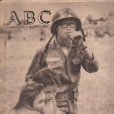 Coleccionismo de Los Domingos de ABC: ABC. 14-6-1965. GUERRA DEL VIETNAM, DE LEON A COSTA BRAVA, FESTIVAL DE OPERA, SANTA POLA. Lote 28887750