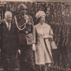 Coleccionismo de Los Domingos de ABC: ABC. 19-5-1965. REINA ISABEL, MENENDEZ PELAYO, ANTONIUTTI, FUENTE DE ZURBARAN, RAIMUNDO MEDRANO. Lote 28887778