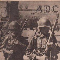 Coleccionismo de Los Domingos de ABC: ABC. 20-5-1965. RAIMUNDO MEDRANO, RIZAL, DUQUE DE RIVAS, SOR MARIA DE AGREDA, CASTILLO DE CABRERA. Lote 28918556