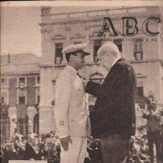 Coleccionismo de Los Domingos de ABC: ABC. 15-6-1965. FIESTA MILITAR LISBOA, TORREJON DE ARDOZ, 2º REPUBLICA ESPAÑOLA, JACOBEO. Lote 28918593