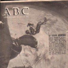 Coleccionismo de Los Domingos de ABC: ABC. 9-6-1965. GEMINIS IV, TERESIANISMO, ISABEL II, ISLA DE LA PALMA, REGINA MUNDI. Lote 28918825