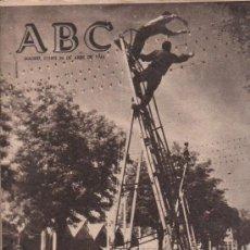 Coleccionismo de Los Domingos de ABC: ABC. 26-4-1965. FERIA DE ABRIL, INTEGRISMOS, HUMPHREY, CASITAS VIEJAS, CAZA, MADRID, HANOI. Lote 28918863