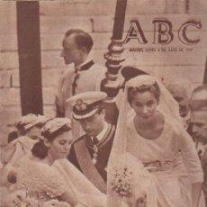 Colecionismo de Los Domingos de ABC: ABC. 6-7-1965. BODA PRINCESA PAOLA, NIETO DEL KAISER, MENEDEZ PELAYO, KUWAIT, PREMIO DE VALLAS. Lote 143487950