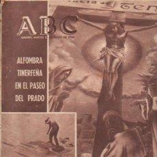 Coleccionismo de Los Domingos de ABC: ABC. 23-7-1965. DOSTOYEVSKY, TOREROS EN CASA CAMPO, CASTILLO DEL CID, NASSER, PASEO DEL PRADO. Lote 28919754