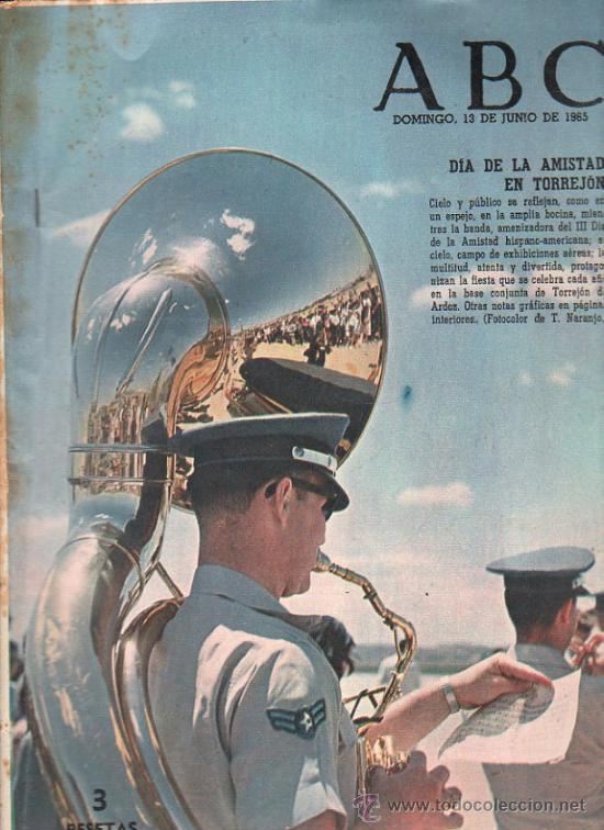 ABC. 13-6-1965. DIA AMISTAD EN TORREJON, DUQUE DE RIVAS, FRANCISCO RABAL, VALLE DE ORDESA (Coleccionismo - Revistas y Periódicos Modernos (a partir de 1.940) - Los Domingos de ABC)