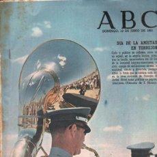 Coleccionismo de Los Domingos de ABC: ABC. 13-6-1965. DIA AMISTAD EN TORREJON, DUQUE DE RIVAS, FRANCISCO RABAL, VALLE DE ORDESA. Lote 28921950