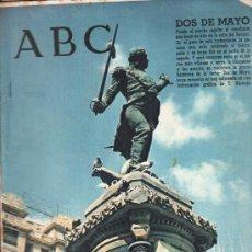 Coleccionismo de Los Domingos de ABC: ABC. 2-5-1965. DOS DE MAYO, SAGRADO MADERO, VELARDE, JOSE Mº FORQUE. Lote 28922087