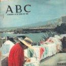 Coleccionismo de Los Domingos de ABC: ABC. 25-4-1965. FRANCISCO PIZARRO, GUILLERMO MARIN, VALLADOLID, EGIPTO E ISRAEL, KENNEDY. Lote 28922176
