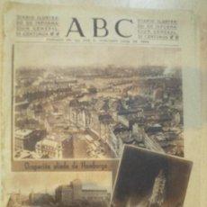 Coleccionismo de Los Domingos de ABC: DIARIO ABC - 4 DE MAYO DE 1945. Lote 29330945