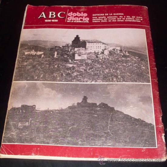 Coleccionismo de Los Domingos de ABC: ABC 1936 - 1939 - DOBLE DIARIO DE LA GUERRA CIVIL - Nº 28 - Foto 2 - 29386535