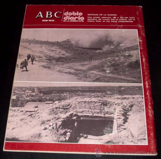 Coleccionismo de Los Domingos de ABC: ABC 1936 - 1939 - DOBLE DIARIO DE LA GUERRA CIVIL - Nº 45 - Foto 2 - 29386842