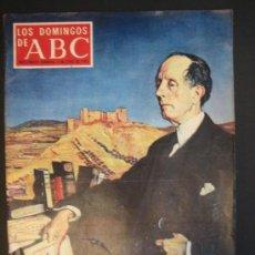 Coleccionismo de Los Domingos de ABC: AZORÍN. ABC. Lote 39927484