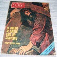 Coleccionismo de Los Domingos de ABC: SUPLEMENTO SEMANAL LOS DOMINGOS DE ABC MARZO 1970. Lote 30071729