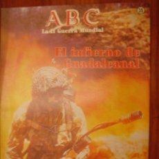 Coleccionismo de Los Domingos de ABC: ABC LA II GUERRA MUNDIAL 35. Lote 30377240