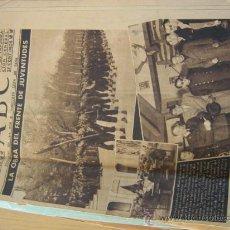 Coleccionismo de Los Domingos de ABC: ABC Nº º2.274 DEL 11/12/1942 TRIPA ED. ANDALUCIA, DEDICADO A LA PURISIMA 10 HOJAS 25 CENTIMOS. Lote 30618924