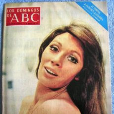 Coleccionismo de Los Domingos de ABC: LOS DOMINGOS DE ABC, MARZO DE 1973. AMANCIO, NURIA TORRAY, SARA MONTIEL, EL TORO DE CUATRO AÑOS,.... Lote 30986161