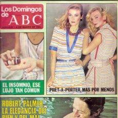 Coleccionismo de Los Domingos de ABC: LOS DOMINGOS DE ABC - 8 MARZO 1981. Lote 31134736