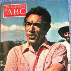 Collectionnisme de Los Domingos de ABC: LOS DOMINGOS DE ABC, SEPTIEMBRE DE 1971. ANTHONY QUINN, MAURICE BEJART, BLASCO MENTOR, BALTASAR LOBO. Lote 31183471