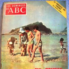 Coleccionismo de Los Domingos de ABC: LOS DOMINGOS DE ABC, AGOSTO DE 1971. TENNESSEE WILLIANS, RAMON Y CAJAL, SAN SEBASTIAN, BELAFONTE..... Lote 31184426