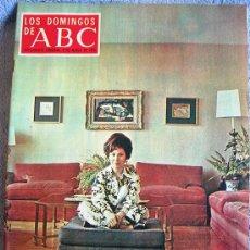 Coleccionismo de Los Domingos de ABC: LOS DOMINGOS DE ABC, MARZO DE 1970. DALI, PACO RABAL, CONCHITA BAUTISTA, URTAIN, JOCKEY / SAVARIN,... Lote 140300665