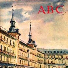 Coleccionismo de Los Domingos de ABC: ABC, MADRID, 3 DICIEMBRE 1960, FUNDADO POR TORCUATO LUCA DE TENA, MALANCOLÍA. Lote 31491301