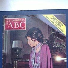 Coleccionismo de Los Domingos de ABC: &-REVISTA.LOS DOMINGOS DE ABC.1972. AURORA BAUTISTA,REPORT: FOTOS.- NEGROS D CANADA- MIGUEL HERNAND . Lote 31590927