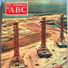 Coleccionismo de Los Domingos de ABC: LOS DOMINGOS DE ABC, NOVIEMBRE 1969. VON BRAUN, HISTORIA DEL BARÇA, EMILIO ROMERO, LOS CONJUNTOS..... Lote 31697439